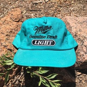 Vintage Miller Light SnapBack Hat